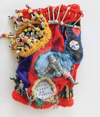 Image result for Mona Luison Textile Sculpture, Soft Sculpture, Textile Art, Textiles, Yarn Bombing, Crochet Art, Childhood Toys, Fabric Manipulation, Fabric Art