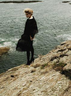 """vogueweekend: """" """"""""Femme Fatale"""", Julia Stegner by Carter Smith for Allure September 2008 """" """""""