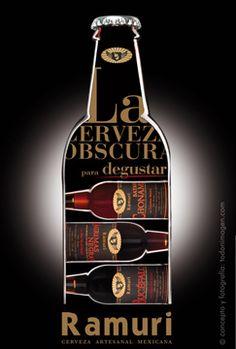 Cerveza Ramuri, cerveza artesanal mexicana, cerveza oscura para degustar, cerveza obscura para degustar