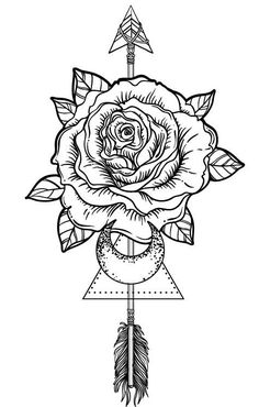 Image result for roses and arrows