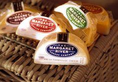 Margaret River Cheese verpakking door Roland Butcher  #Packaging #Design #Dairy #Zuivel #Milk #Verpakking