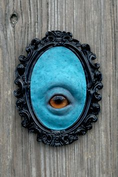 Eye by Jake Waldron - hand sculpted and hand cast in silicone.