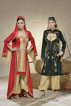 Traditional Turkish wedding costume - Today, this costume is worn on henna night . Turkish Wedding Dress, Wedding Dress With Veil, Country Wedding Dresses, Wedding Dresses Pinterest, Muslim Dress, Turkish Fashion, Wedding Costumes, Caftan Dress, Models