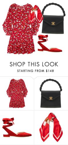 """""""Untitled #561"""" by farrahaqs on Polyvore featuring Maje, Chanel and Moschino"""