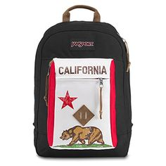 JanSport Reilly Backpack - Red New California Republic