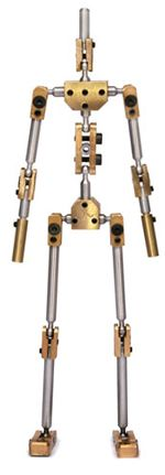 K1 Stopmotion armature. Professional structure for stopmotion animation.  This is more of what I'm thinking