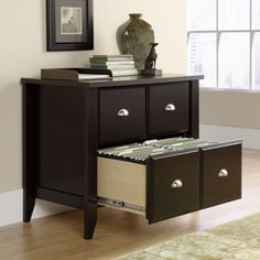 Add some pizazz to your plain old file cabinets using some ...