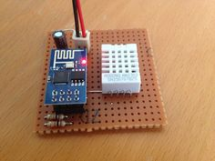 DIY: Cheap wifi-based temperature/humidity sensor based on & - Hardware / Home Automation - openHAB Community Arduino Bluetooth, Arduino Wifi, Esp8266 Wifi, Esp8266 Projects, Iot Projects, Electronics Projects, Home Automation Project, Home Automation System, Humidity Sensor Arduino