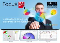 Focus24 è controllo della strategia di vendita per tutte le persone coinvolte nel processo di vendita  A chi si rivolge?  Focus24 Vendite è ...