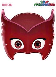 Sacha, Amaya et Greg vont à l'école comme tous les enfants mais la nuit ils enfilent des pyjamas magiques et se transforment en super-héros pour régler les tracas. Voici Bibou à la vue perçante, qui vole comme un oiseau. Pj Masks Printable, Printable Halloween Masks, Party Printables, Free Printables, Mascaras Pj Masks, Pj Masks Games, Cat Games, Pjmask Party, Party Ideas