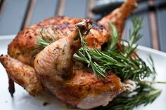 Tuscan Beer Can Chicken.  We'll be trying this out on the Big Green Egg! Can Chicken Recipes, Beer Can Chicken, Canned Chicken, Roast Chicken, Grilling Recipes, Cooking Recipes, Healthy Recipes, Cooking Ideas, Big Green Egg Bbq