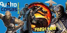 O Qu4tro Coisas de hoje vai finalmente falar de um assunto surgido nos vídeo-games, e a hora é de Mortal Kombat, Pablo Peixoto vai falar de uma coisa velha, uma nova, uma boa e uma ruim sobre este sucesso polêmico que marcou os anos 90. Mortal Kombat é uma franquia criada por Ed Boon e …