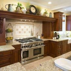 62 best Decorating Above Kitchen Cabinets images on Pinterest ...
