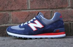 "New Balance 574 ""Dark Blue & Red"" (Preview)"