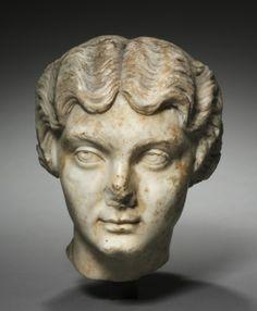 Portrait Head of the Empress Lucilla
