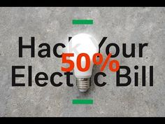 Cut your energy bill | How to Cut your energy bill by half with DIY home...