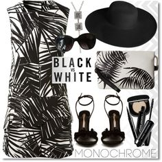 How To Wear Monochrome Outfit Idea 2017 - Fashion Trends Ready To Wear For Plus Size, Curvy Women Over 20, 30, 40, 50