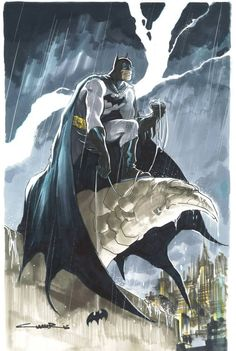 Batman by Yildiray Cinar *