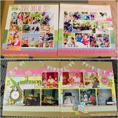 MightyCrafty.me - May 2012 Paper Layouts | photo collage | 8 photos
