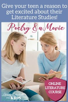 Let us help you teach Language Arts! The Poetry and a Movie course covers all you need for a full hi. Homeschool High School, Homeschool Curriculum, Homeschooling Resources, Homeschool Kindergarten, Literary Elements, Literary Writing, Importance Of Time Management, Sight Word Activities, Teaching Language Arts