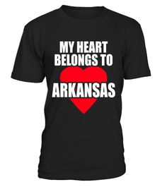 "# My Heart Belongs To Arkansas T-shirt .  Special Offer, not available in shops      Comes in a variety of styles and colours      Buy yours now before it is too late!      Secured payment via Visa / Mastercard / Amex / PayPal      How to place an order            Choose the model from the drop-down menu      Click on ""Buy it now""      Choose the size and the quantity      Add your delivery address and bank details      And that's it!      Tags: My heart belongs to Arkansas tee shows love…"