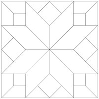 imaginesque free quilt block patterns and templates I think this is one of the pillows on Sookie's couch.