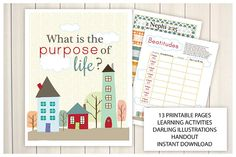 February {Come Follow Me} What is the purpose of life? Teaching Package