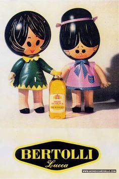 Olivella e Maria Rosa, Olio Bertolli.