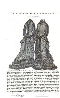 January 1877 Petersons Magazine