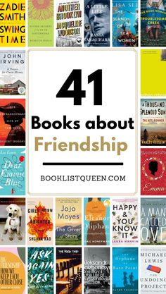 The Ultimate Book List of the Best Books About Friendship. Celebrate the friendships in your life with these stunning books, including Adult, Young Adult and Teen Choices.