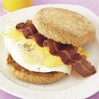 Diane Green's Tasty Power-Breakfast Sandwich