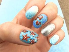 Looking for some #summernails inspiration? This one from @ysp_official is just perfect ! There's also a tutorial too. Click on their bio now.