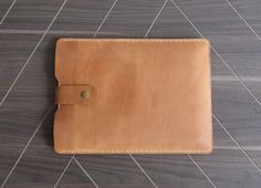 H01 Macbook 12 sleeve made of Genuine leatherAir 11 12 by BONCASE
