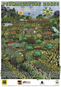 Permaculture Zones, Making an A-Frame, Recycling Grey Water, Companion Planting, Liquid Manure, Making Compost, Permaculture Guilds
