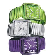 $19.99 Metallic Square Expansion Watch.... I love this watch so much (the silver one) I may actually wear a watch again! http://sarahspalding.avonrepresentative.com/