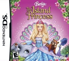 Barbie Island Princess DS Game