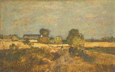 Paál László (1846-1879) - A párizsi erődítések környéke Painting, Art, Art Background, Painting Art, Kunst, Paintings, Performing Arts, Painted Canvas, Drawings