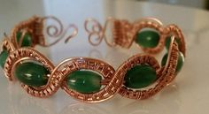 Braided Wire Wrapped Bracelet | JewelryLessons.com
