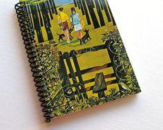 Summer Walks Spiral Notebook 4 x 6 by Ciaffi on Etsy, $12.50