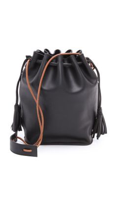 98f6a6ebf71d Monserat De Lucca Sancha Drawstring Bucket Bag