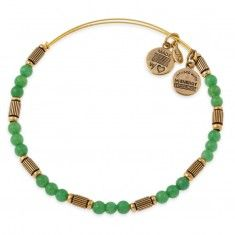 Sour Apple Traveler Beaded Bangle