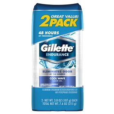 #Gillette Clear Gel Cool Wave eliminates odor at the source.