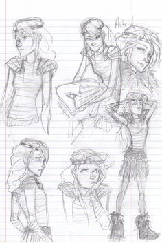 Astrid sketchies by burdge-bug.deviantart.com on @deviantART there isn't enough astrid fan art I love Astrid
