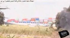 Raw Video: Militants Firing RPG At Chinese Ship in Suez Canal