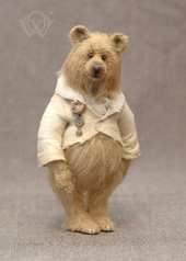 Adopted Bear on Bear Pile