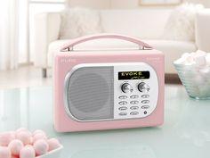 Pure Mio DAB Radio Pink