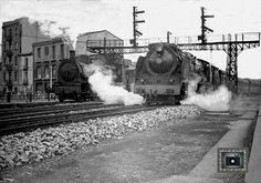 #tren #antiguo #zaragoza #enmarcación #decoración
