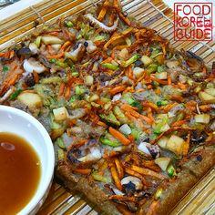 Acorn Pancake, Grilled Octopus & Mook Soup 도토리전, 석쇠쭈꾸미 & 묵사발