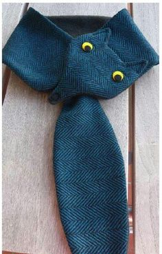 Bear, moose, owl, for child's scarf Sewing For Kids, Baby Sewing, Sewing Clothes, Diy Clothes, Couture Bb, Sewing Crafts, Sewing Projects, Knitting Patterns, Sewing Patterns