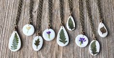 Love these sweet little necklaces!   www.thetinytwig.net  #realleaf #realflower #thetinytwig Real Flowers, Necklaces, Pendant Necklace, Sweet, Inspiration, Shopping, Jewelry, Candy, Biblical Inspiration